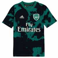 Adidas Arsenal Football Club Pre Match Shirt 2019 2020 Green/Navy Детски тениски и фланелки