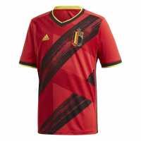 Adidas Домакинска Футболна Фланелка Spain Silva Home Shirt 2018 Red/Gold Испански футболни фланелки