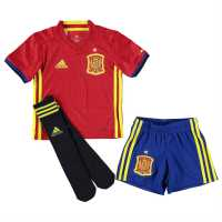 Adidas Spain Home Kit 2016 Mini Red/Yellow Испански футболни фланелки