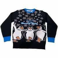 Nufc Коледен Пуловер United Fc Christmas Jumper Juniors  Коледни пуловери