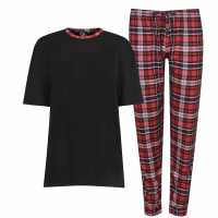 Fabric Tartan Family Pyjamas Ladies  Коледни пуловери