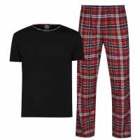Fabric Tartan Family Pyjamas Mens  Коледни пуловери