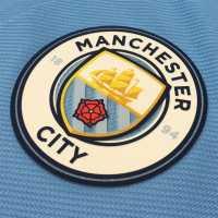 Nike Manchester City Home Shorts 2017 2018 White/Navy Футболни тениски на Манчестър Сити