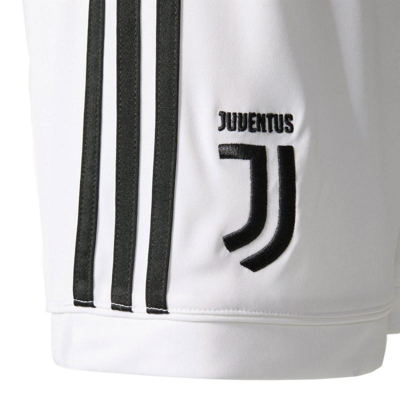 87226271883 Adidas Juventus Home Shorts 2017 2018 White/Black Футболни тениски на  Ювентус