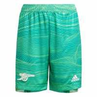 Adidas Arsenal Home Goalkeeper Shorts 2021 2022 Junior  Детски къси панталони