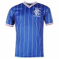 Score Draw Rangers 1984 Home Jersey Mens Blue Детски тениски и фланелки