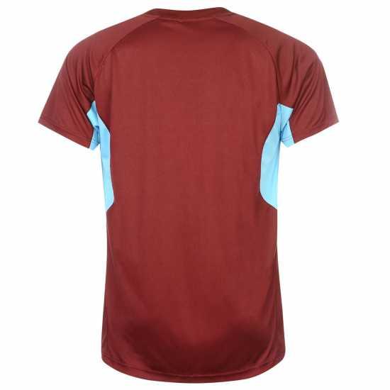 1abc07f9ddc Source Lab Мъжка Тениска West Ham United T Shirt Mens Claret/Blue Мъжки  тениски и