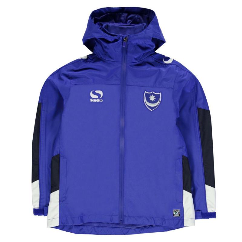 0a900779704 Sondico Детско Яке За Дъжд Portsmouth Rain Jacket Junior Boys Navy Детски  якета и палта