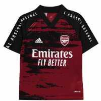 Adidas Arsenal Pre Match Shirt 2020 2021 Junior  Детски тениски и фланелки