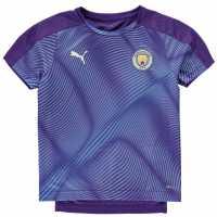 Puma Manchester City Stadium Jersey 2019 2020 Junior Purple/Blue Детски тениски и фланелки