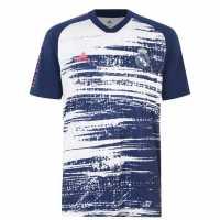 Team Тениска Момчета Portsmouth Print T Shirt Junior Boys White Детски тениски и фланелки