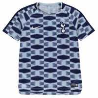 Nike Tottenham Hotspur Squad Training Shirt Junior Boys Blue/White Детски тениски и фланелки