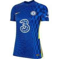 Nike Домакинска Футболна Фланелка Chelsea Home Shirt 2021 2022 Ladies  Дамски тениски и фланелки