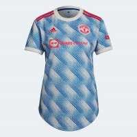 Adidas Manchester United Away Shirt 2021 2022 Ladies  Дамско облекло плюс размер