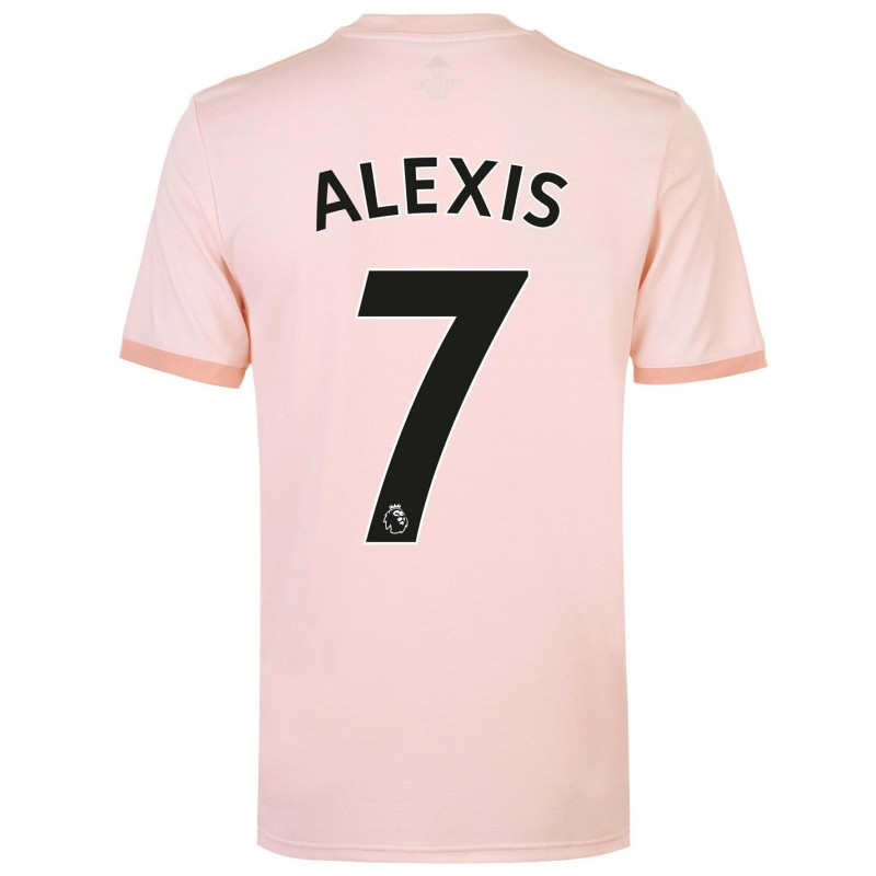 save off f3261 64d2d Adidas Manchester United Alexis Sanchez Away Shirt 2018 2019 Pink -