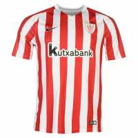 Nike Домакинска Футболна Фланелка Athletic Bilbao Home Shirt 2016 2017 Mens Red/White Фланелки на Атлетик Билбао