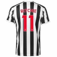Puma Домакинска Футболна Фланелка Newcastle United Matt Ritchie Home Shirt 2018 2019 Black/White Футболни тениски на Нюкасъл Юнайтед