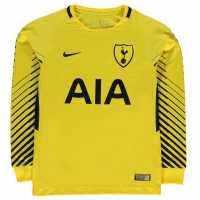 Nike Tottenham Hotspur Home Goalkeeper Shirt 2017 2018 Junior Yellow/Black Футболни тениски на Тотнъм Хотспър