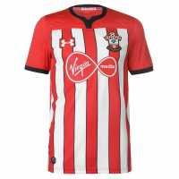 Under Armour Домакинска Футболна Фланелка Southampton Home Shirt 2018 2019 Red/White Футболни фланелки на Саутхемптън