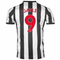 Puma Домакинска Футболна Фланелка Newcastle United Gayle Home Shirt 2017 2018 Black/White Футболни тениски на Нюкасъл Юнайтед