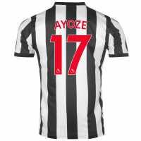 Puma Домакинска Футболна Фланелка Newcastle United Ayoze Home Shirt 2017 2018 Black/White Футболни тениски на Нюкасъл Юнайтед