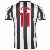 Puma Домакинска Футболна Фланелка Newcastle United Ritchie Home Shirt 2017 2018 Black/White Футболни тениски на Нюкасъл Юнайтед