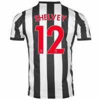 Puma Домакинска Футболна Фланелка Newcastle United Shelvey Home Shirt 2017 2018 Black/White Футболни тениски на Нюкасъл Юнайтед