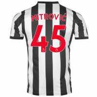 Puma Newcastle United Mitrovic Football Shirt 2017 2018 Black/White Футболни тениски на Нюкасъл Юнайтед