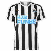 Puma Домакинска Футболна Фланелка Newcastle United Home Shirt 2018 2019 Black/White Футболна разпродажба