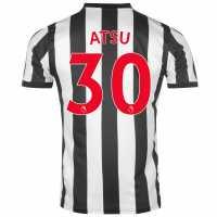 Puma Newcastle United Home Atsu Shirt 2017 2018 Black/White Футболни тениски на Нюкасъл Юнайтед