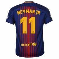 Nike Домакинска Футболна Фланелка Fc Barcelona Neymar Home Shirt 2017 2018 Royal/Red Футболни фланелки Барселона