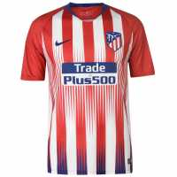 Nike Домакинска Футболна Фланелка Atletico Madrid Home Shirt 2018 2019 Red/White