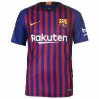 Nike Домакинска Футболна Фланелка Barcelona Home Shirt 2018 2019 Royal Blue Футболни фланелки Барселона