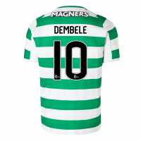 New Balance Домакинска Футболна Фланелка Celtic Moussa Dembele Home Shirt 2018 2019 White/Green
