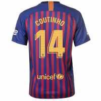 Nike Домакинска Футболна Фланелка Barcelona Philippe Coutinho Home Shirt 2018 2019 Royal Blue Футболни фланелки Барселона
