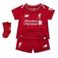 New Balance Liverpool Home Baby Kit 2018 2019 Red Футболни тениски на Ливърпул