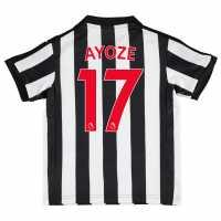 Puma Домакинска Футболна Фланелка Newcastle United Ayoze Home Shirt 2017 2018 Junior Black/White Футболни тениски на Нюкасъл Юнайтед