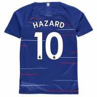 Nike Домакинска Футболна Фланелка Chelsea Eden Hazard Home Shirt 2018 2019 Junior Blue Футболни тениски на Челси