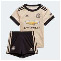 Adidas Manchester United Away Baby Kit 2019 2020 Linen Бебешки дрехи