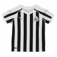 Puma Домакинска Футболна Фланелка Newcastle United Home Shirt 2018 2019 Junior Black/White Футболна разпродажба