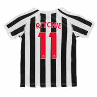 Puma Домакинска Футболна Фланелка Newcastle United Matt Ritchie Home Shirt 2018 2019 Junior Black/White