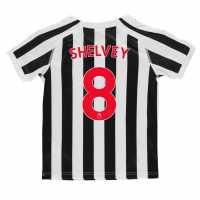 Puma Домакинска Футболна Фланелка Newcastle United Jonjo Shelvey Home Shirt 2018 2019 Junior Black/White