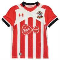Under Armour Домакинска Футболна Фланелка Southampton Home Shirt 2016 2017 Junior Red Футболни фланелки на Саутхемптън