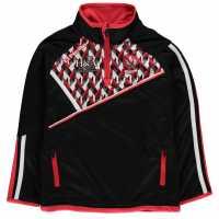Oneills Derry Gaa Half Zip Pullover Junior Boys  Детски суитчъри и блузи с качулки