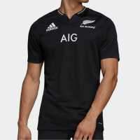 Blk Saracens Home Top Black Дрехи за ръгби
