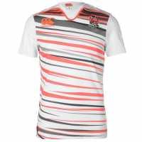 Canterbury England Sevens Home Rugby Shirt White