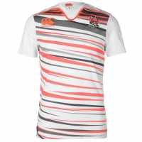 Canterbury England Sevens Home Rugby Shirt White Английски футболни фланелки