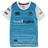 Canterbury Ospreys Away Shirt 2018 2019 Junior White