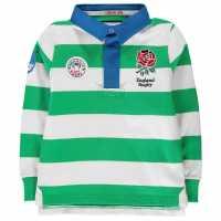 Rfu Bold Stripe Jersey Infant Boys Green/White Детски тениски и фланелки
