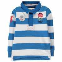 Rfu Bold Stripe Jersey Infant Boys Blue/White Детски тениски и фланелки